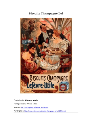 Biscuits Champagne Lef--Artisoo