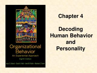 Chapter 4 Decoding Human Behavior and Personality