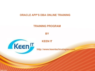 Database Software Training | Online DBA Apps Training