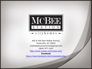 Condos for Sale Greenville SC