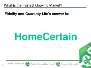 What is the Fastest Growing Market?