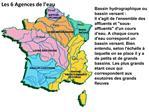 Bassin hydrographique ou bassin versant :  Il sagit de lensemble des affluents et sous-affluents dun cours d eau. A chaq