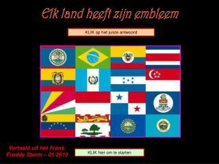 Elk land heeft zijn embleem