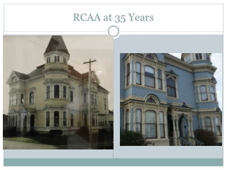 RCAA at 35 Years