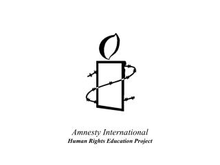 Amnesty International Human Rights Education Project