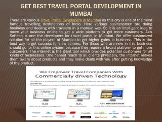 Get Best Travel Portal Development in Mumbai
