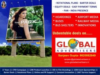 Lodha Group Properties Outdoor Advertisement of Mumbai
