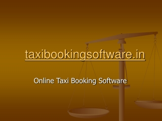 cab management software | taxi software