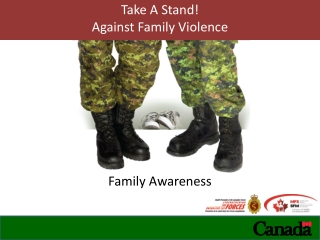 Take A Stand! Against Family Violence