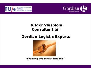 Gordian Logistic Experts