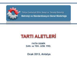 TARTI ALETLERİ