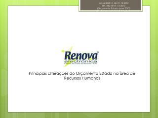 Lei 66-B/2012 de 31-12-2012 DR. 252 de 31-12-2012 (Orçamento Estado para 2013)