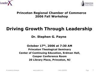 Driving Growth Through Leadership
