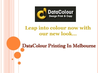 DataColour Printing In Melbourne