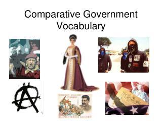 Comparative Government Vocabulary