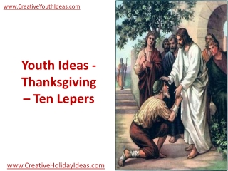 Youth Ideas - Thanksgiving