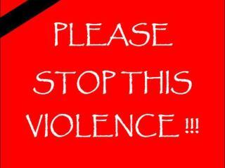 Violence a definition