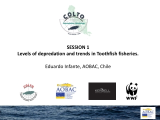 SESSION 1 Levels of depredation and trends in Toothfish fisheries. Eduardo Infante, AOBAC, Chile
