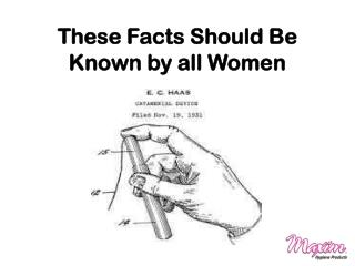 These Facts Should Be Known by all Women