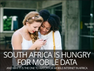 South Africa mobile consumer trends