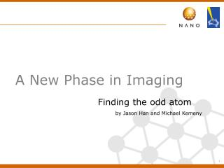 A New Phase in Imaging