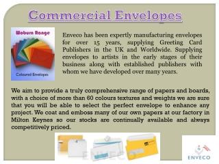 Commercial Envelopes