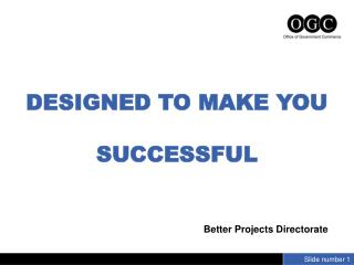 DESIGNED TO MAKE YOU SUCCESSFUL