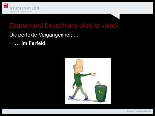 Deutschland Deutschland alles ist vorbei