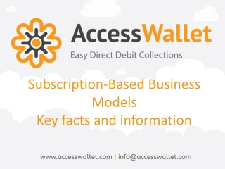 Subscription-Based Business Models Key Facts and Information