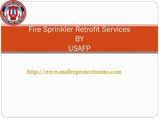 Fire Sprinkler Retrofit Services