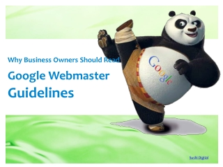 Why Business Owners Should Read Google Webmaster Guidelines