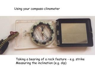 Using your compass-clinometer