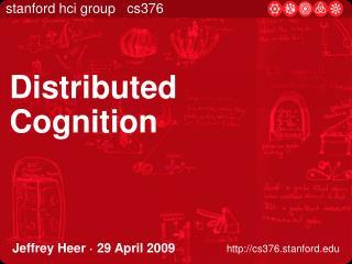Jeffrey Heer · 29 April 2009