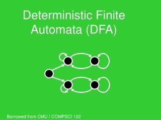 Deterministic Finite Automata (DFA)