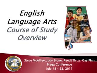 English Language Arts Course of Study Overview
