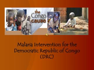 Malaria Intervention for the Democratic Republic of Congo (DRC)