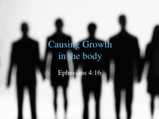 Causing Growth in the body