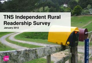 TNS Independent Rural Readership Survey