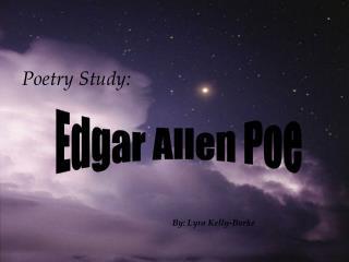 Poetry Study: