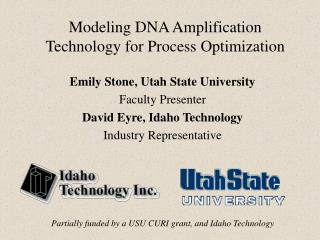 Modeling DNA Amplification Technology for Process Optimization