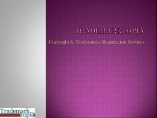 Copyright Trademarks Registration Services