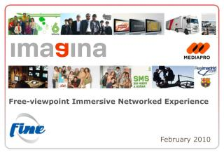 Free-viewpoint Immersive Networked Experience