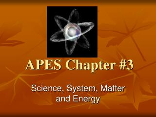 APES Chapter #3