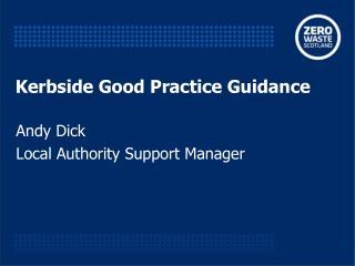Kerbside Good Practice Guidance
