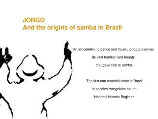 JONGO And the origins of samba in Brazil