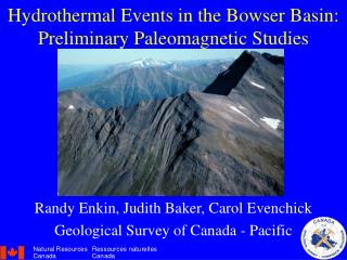Hydrothermal Events in the Bowser Basin: Preliminary Paleomagnetic Studies