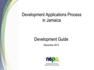 Development Applications Process in Jamaica
