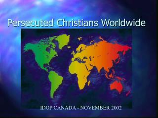 Persecuted Christians Worldwide