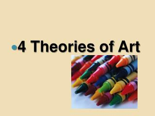 4 Theories of Art