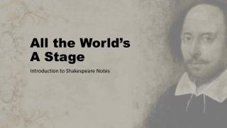 Shakespeares influence on the English language